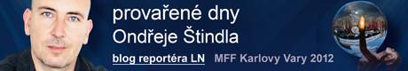 Provařené dny Ondřeje Štindla | Lidovky.cz - aktuální zprávy z MFF Karlovy Vary 2012