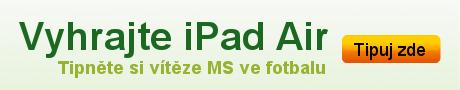 Tipněte si vítěze v MS ve fotbalu a vyhrajte iPad Air